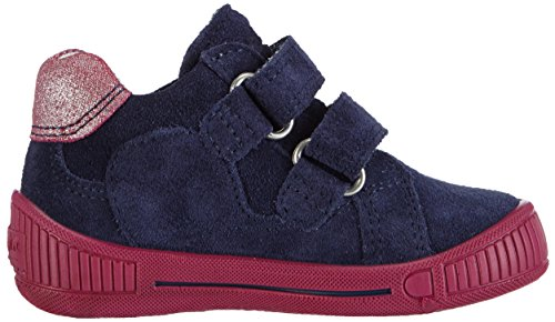 Superfit COOLY Baby Mädchen Lauflernschuhe Blau (COSMOS KOMBI 91)