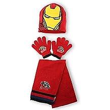 Conjunto gorro guantes bufanda Iron Man Capitan America Vengadores surtido 54dd96b2cc7
