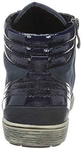 Caprice 25250, Baskets Basses Femme Bleu (OCEAN NU COMB 858)