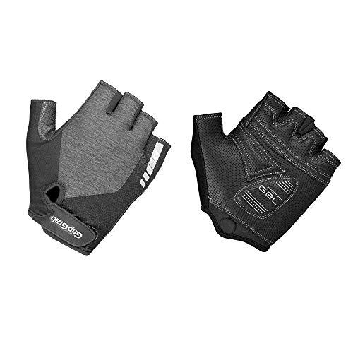 GripGrab Damen ProGel Fahrradhandschuhe Kurz, Grau, XS Damen Nylon-handschuhe