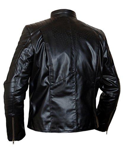 F&H Men's Batman Christian Bale Jacket Black