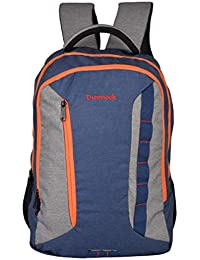 Dunnock Hashtag Laptop Backpack, 25 Litre (Grey/Blue)