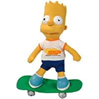 United Labels 1000361 Los Simpson - Peluche de Bart con monopatín ...
