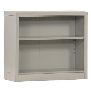 Sandusky Lee bq10351352-05Dove Grau Stahl Pulverbeschichtung Snapit Bücherregal mit 3verstellbaren Böden, 30