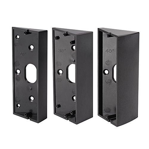 Kreema 3 Stucke Anpassung Adapter 20-50 Grad Winkel Mount Platte Ecke Halterung Keil fur Ring Video Turklingel Pro Kit