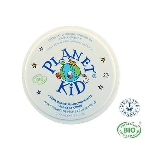 Planet Kid Crème douceur nourrissante visage et corps Mangue et Pêche 100ml
