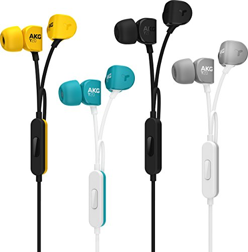 AKG Signature Y20UTEL in-Ear Stereo Headphone with Mic (Teal) Image 7