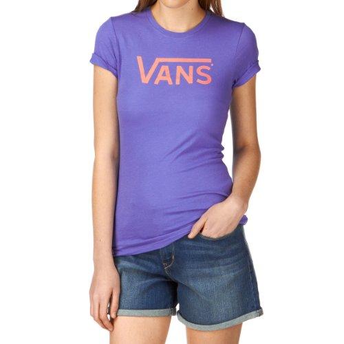 Vans Allegiance Womens T-Shirt Bleu - Bleu iris