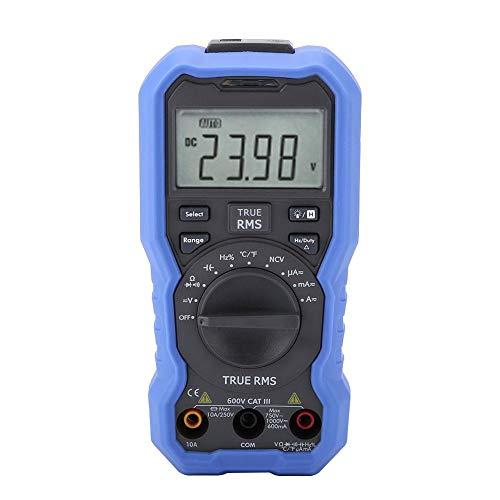 OWON Multímetro digital Bluetooth, NVC con sensor de voltaje sin contacto + Registrador de datos + Termómetro Frecuencia Relación de trabajo Temperatura Diodo Prueba de continuidad(OW16A)