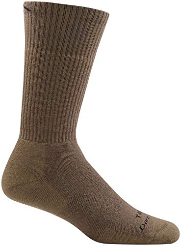 7631c761a57d9 Darn Tough Tactical Boot Full Cushion Sock - Coyote Brown Large