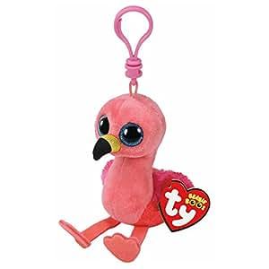 TY Beanie Boos Gilda the Flamingo, Keyclip!