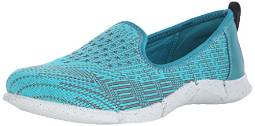 Ecco ECCO INTRINSIC KARMA, Damen Slipper, Türkis (FANFARE/TURQUOISE-MOON59795), 40 EU (7.5 Damen UK)