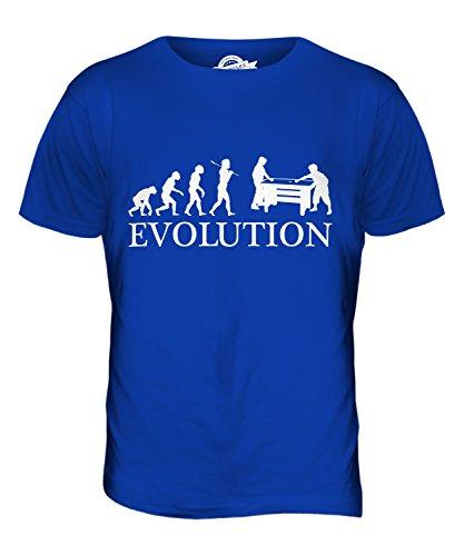 CandyMix Air Hockey Evolution Des Menschen Herren T Shirt Königsblau