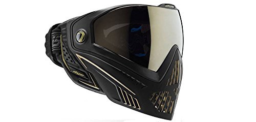 Dye i5 Paintball Maske, Mehrfarbig (Onyx Black Gold), One Size