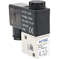heschen Elektrische Pneumatische Magnetventil 3V1–0612VDC 2,5W PT1/83/2Wege Normalerweise geschlossen CE