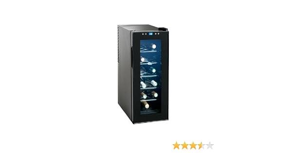 Mini Kühlschrank Für 1 Liter Flaschen : Domoclip gs107 kompakter 35 liter weink?hlschrank f?r 10 flaschen