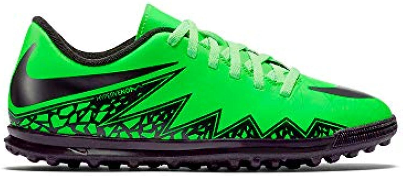 Nike JR Hypervenom Phade II TF Fussballschuhe green strike-black-black - 36