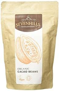 Sevenhills Wholefoods Roh Kakaobohnen Bio 300g