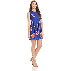 Vero Moda Women's Skater Dress (10184659_Surf the Web_S)