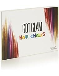 Got Glam Haarkreiden für Kinder und Teenager - 24 herauswaschbare Haarkreide-Farben, ideal für Karneval, Halloween, Partys und vieles mehr