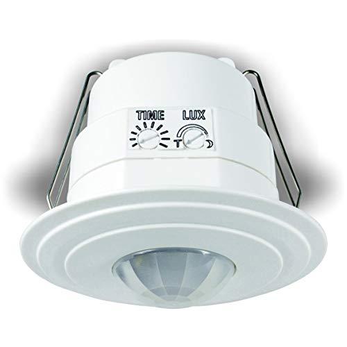 Elro ES360I automatischer Bewegungsschalter, Zeitintervall, 360°x6Mx3M  rund, 1200W - Home-security-hardware