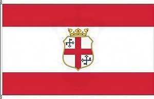 Königsbanner Autoflagge Zell (Mosel) - 30 x 45cm - Flagge und Fahne