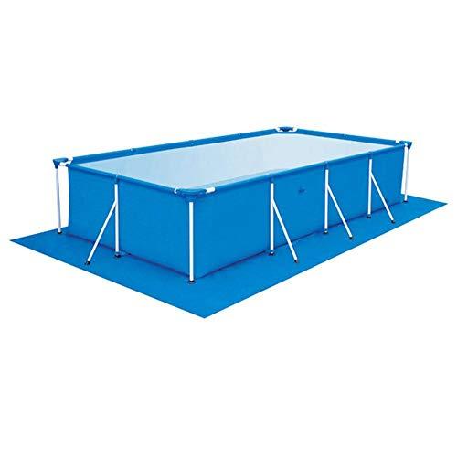 Rich-home Pool Plane Pool Bodenplane Faltbare Regenfeste Planschbeckenmatte Strapazierfähiges Material Leicht zu reinigende Matte(290X 210CM)