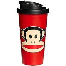 Paul Frank F20101003 - Vaso tipo Starbucks, color rojo