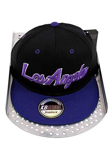 Hip Hop Caps - Casquette de Baseball - Homme - - Noir/lilas - Taille unique