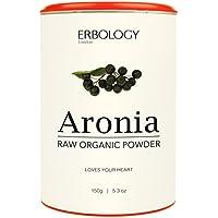 Bio Aronia Pulver 150g - Reich an Anthocyanen - Kraftvolles Antioxidans