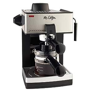 Buy Mr Coffee Ecm160 4 Cup Steam Espresso Machine Black