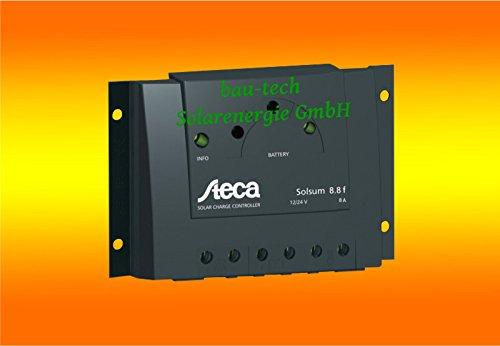 Solarladeregler Steca Solsum 8.8f 12V 24V PWM 8A -