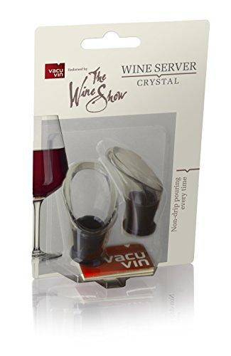 Der Wein Show von Vacu Vin Wine Server Crystal, klar - Bar-server-möbel