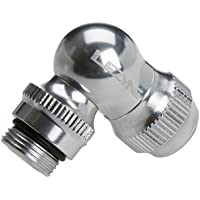 Lezyne 1-PRESTA-V1AL06 Aleación de CNC, Plateado, M