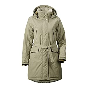 Didriksons Voyage Womens Waterproof Insulated Hooded Coat / Jacket