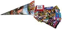 Schultüte Racing 85cm gefüllt mit Ferrero Kinder, tic tac, Nutella und weiteren Süßigkeiten 1er Pack (1 x 1,2kg)