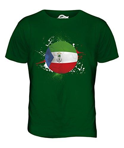 CandyMix Äquatorialguinea Fußball Herren T Shirt Flaschengrün