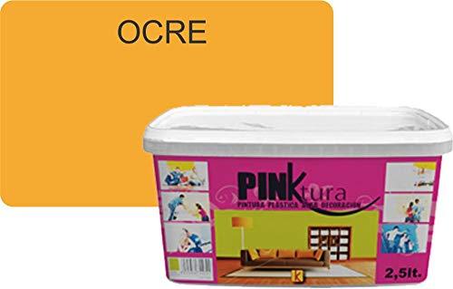 Pintura plástica Alta Decoración PINKTURA 2,5 litros (Ocre)