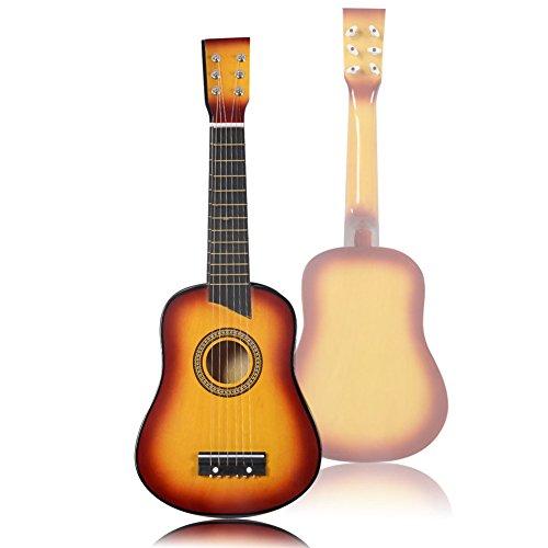 INTERESTING® 21 PRINCIPIANTES PRACTICAN LA GUITARRA ACUSTICA CON LA SELECCION 6 CUERDA NIñOS REGALO DE LOS NIñOS INSTRUMENTO MUSICAL PORTABLE
