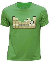 STUFF4 Boy's Round Neck T-Shirt/Equalizer/Amplifier/CS