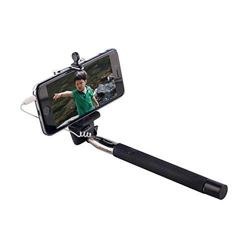 Selfie Stick Stab Teleskop Stange Monopod Verlängerung (23cm - 102cm) für Apple iPhone 6, 6 Plus, 5, 5S, 5C, 4, 4S, iPod Touch