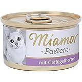 Miamor Pastete Geflügelherzen, 24er Pack (24 x 85 g)