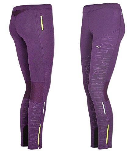 Puma pR cross graphic womens course/fitness/dentraînement pour blackberry cordial collant-jaune Violet - Violet