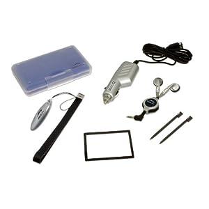 Speedlink Zubehör für Nintendo Handheld (Auto-Ladegerät/Spielhülle/Touchpen/Folie/Headset/Mikrofasertuch/Tragegriff) schwarz