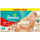 Pampers Easy UPS couches Taille 4 Mega Pack 75