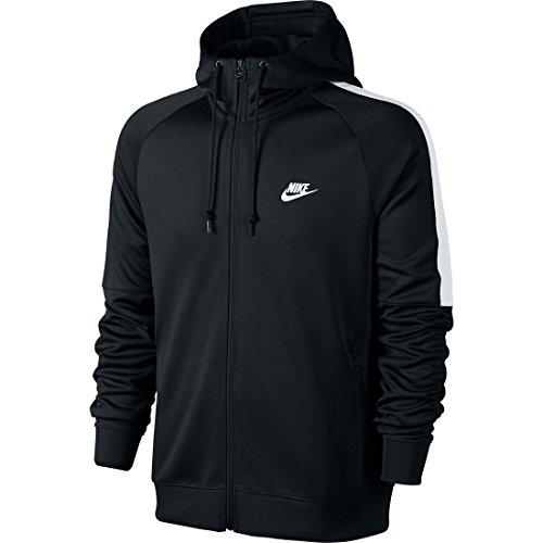 Nike tribuute Herren Kapuzenjacke schwarz - schwarz / weiß