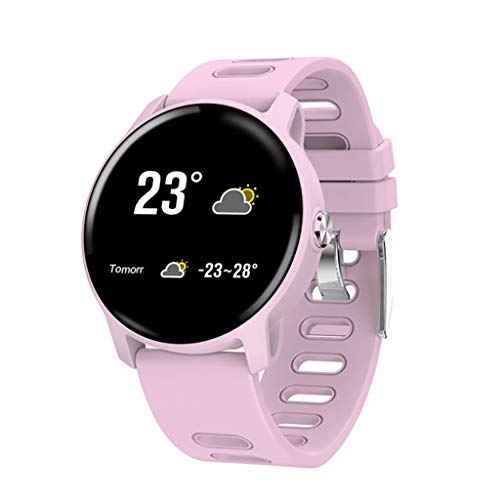 Smartwatch mit Pulsmesser, YEARNLY Fitness Armband Wasserdicht IP67 Fitness Tracker Aktivitätstracker Pulsuhren mit Kalorienzähler Schlafmonitor Remote-Musik für Damen Herren für IOS Android