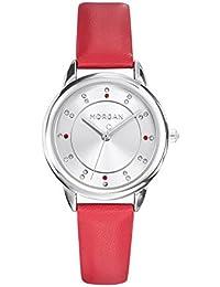 6aaff2a7b2b4 Morgan Reloj Analogico para Mujer de con Correa en Cuero M1256R