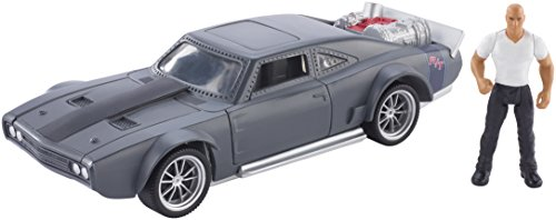 Fast & Furious 8 Stunt Stars Dominic Figure & Ice Charger Vehicle...