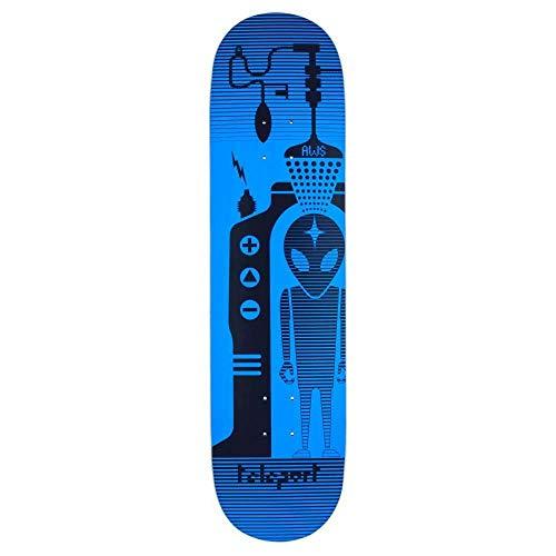 Alien Workshop Blau Teleport - 8.25 Inch Skateboard-Deck (One Size, Blau) -